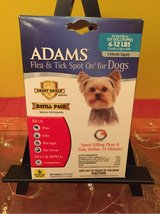 ADAMS FLEA AND TICK SPOT ON REFILL FOR TOY DOGS SMALL 6-12 LBS in Morris, Illinois
