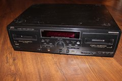 JVC TD-W354 Duel Stereo Cassette Deck Recorder w/ pitch control in Kingwood, Texas
