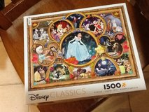 Disney classics 1500 piece puzzle in Yucca Valley, California