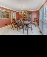Dining Room Set-China Cabinet, Table, 8 chairs, Oil Painting from Toms-Price in Naperville, Illinois