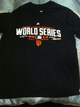 SF WORLD SERIES T-SHIRTS LOT in Travis AFB, California