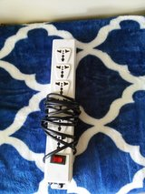 6 Outlet Universal power strip with fuse in Okinawa, Japan