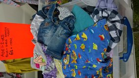 big box of boys and girls age 1-2 yrs clothes mainly next £1 each in Lakenheath, UK
