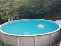24 foot round pool with all accessories in Richmond, Virginia