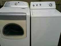 Whirlpool washer and electric dryer for sale in Fort Polk, Louisiana