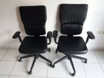 Two Computer Chairs in Ramstein, Germany