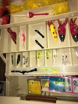 Fishing tackle boxes - with lures, etc. in Naperville, Illinois
