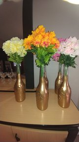 Glass Bottle Centerpieces in Cary, North Carolina
