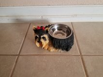 Yorkie water/food bowl - REDUCED in Alamogordo, New Mexico