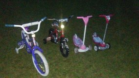 Kids bikes...scooters in Perry, Georgia