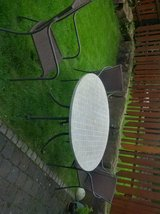 patio table & 4 chairs in Ramstein, Germany