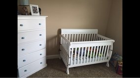 convertible crib and or dresser in Fort Campbell, Kentucky