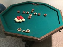Bumper Pool/Card Table in New Lenox, Illinois