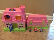 Little people play house in Pleasant View, Tennessee