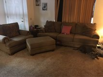 couch plus chair/ottoman in 29 Palms, California