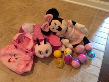 Night light and Minnie and a pink purse with music in Fort Campbell, Kentucky