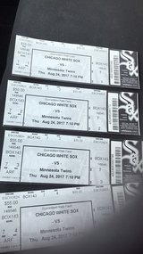 Sox tickets in Westmont, Illinois