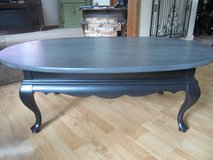 Refinished Solid Wood Queen Ann Coffee Table in Chicago, Illinois