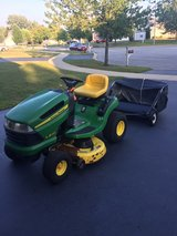 John Deere Riding Lawnmower in Chicago, Illinois