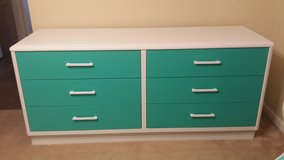 Teal Dresser (6 drawer dresser ) in Hinesville, Georgia