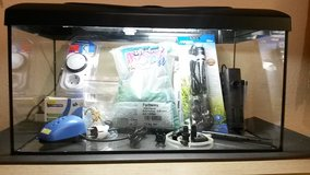 54 liter Fish Tank (14.2) gallons with Extras in Ramstein, Germany