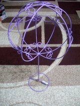 Purple Sphere on stand in Alamogordo, New Mexico