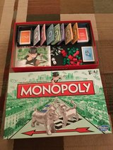 Monopoly board game in Plainfield, Illinois
