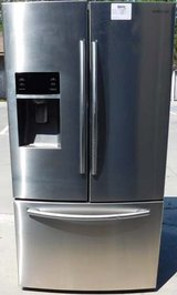 26 CU. FT. SAMSUNG BOTTOM FREEZER- STAINLESS WITH WARRANTY (FINANCING) in Camp Pendleton, California