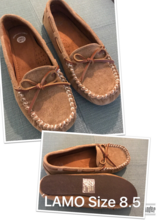 Lamo women's moccasins in Fort Irwin, California