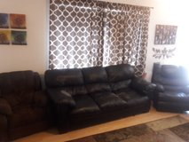 Couch and 2 recliners in Fairfield, California