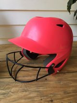 Wilson softball helmet in Fort Belvoir, Virginia