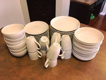 Pottery Barn Great White Coupe Dinnerware Dish Set in Belleville, Illinois