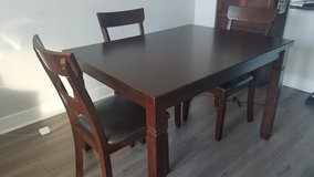 Espresso Dining Table in Waldorf, Maryland