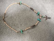 Zuni Knifewing Necklace turquoise And Sliver Vintage in Lake Elsinore, California