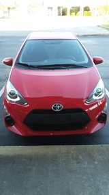 2015 Red Toyota Prius C in Camp Lejeune, North Carolina