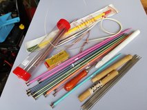 Various knitting, crochet & tatting needles in Westmont, Illinois