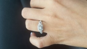 Size 4 engagement ring in Perry, Georgia