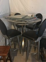 High Top Glass Table in Fort Carson, Colorado
