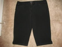 Ladies White House Black Market size 14 capris in Fort Benning, Georgia