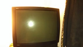 A television in Lawton, Oklahoma