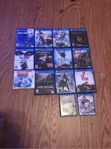 PS4 games plus a DS game and a few ps vita games in Birmingham, Alabama