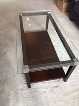Glass Coffee Table in Naperville, Illinois