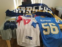Chargers gear in Camp Pendleton, California
