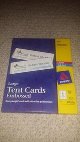 Avery Large Embossed Tent Cards (2 packages available) in Westmont, Illinois
