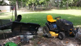 Craftsman PYT 9000 Riding mower w/bagger in Perry, Georgia