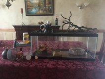 20 gallon reptile tank and supplies in Naperville, Illinois