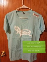 New bearded dragon woman's shirt in Lawton, Oklahoma