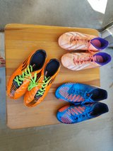 Soccer cleats in Camp Pendleton, California
