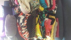 Huge lot of 100+ pieces of mixed sizes ladies clothing in Miramar, California