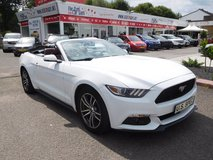 '15 Ford Mustang Convertible EcoBoost Premium in Ramstein, Germany